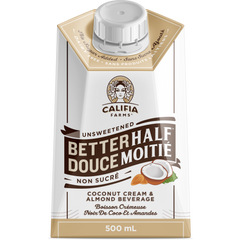 Califia Better Half Unsweetened Creamer - 500ml
