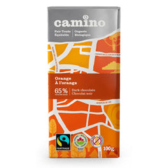 Camino Orange 65% Dark Chocolate Bar - 100g