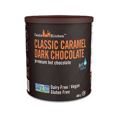 Castle Kitchen Classic Caramel Dark Hot Chocolate Mix - 400g