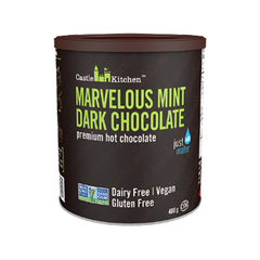 Castle Kitchen Marvelous Mint Dark Hot Chocolate Mix - 400g