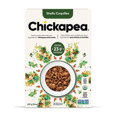Chickapea Organic Chickpea and Red Lentil Pasta Shells - 227g