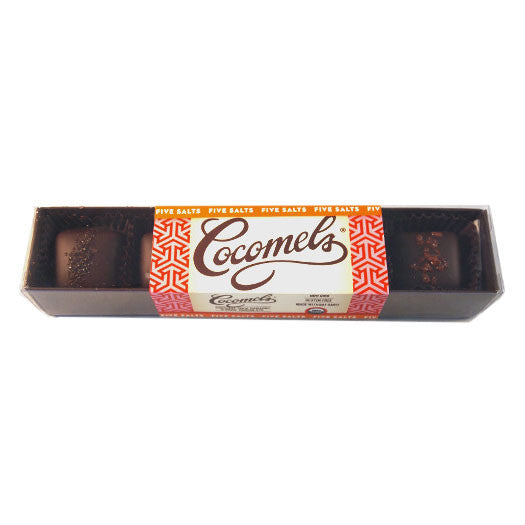 Cocomels Chocolate Five Salts Box - 70g