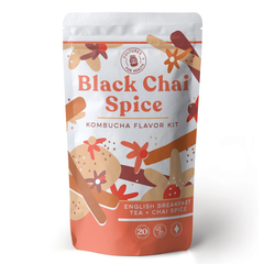 Cultures For Health Black Chai Spice Kombucha Flavour Kit - 20 servings