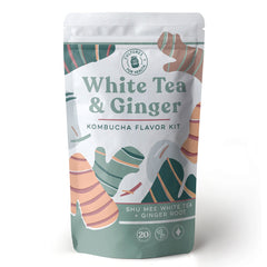 Cultures For Health White Tea & Ginger Kombucha Flavor Kit - 20 servings