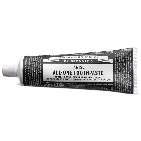 Dr. Bronner's Anise All-One Toothpaste - 140g