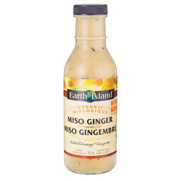 Earth Island Miso Ginger Dressing - 355ml
