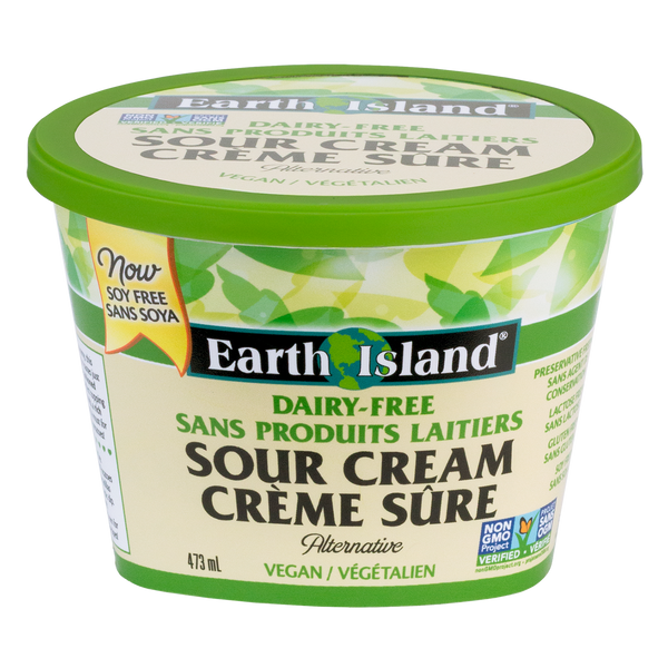 Earth Island Sour Cream - 473ml