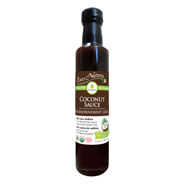 Ecoideas Coco Natura Organic Coconut Seasoning Sauce - 236ml