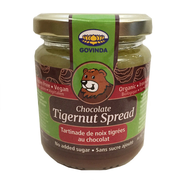 Ecoideas Govinda Chocolate Tigernut Spread - 220g