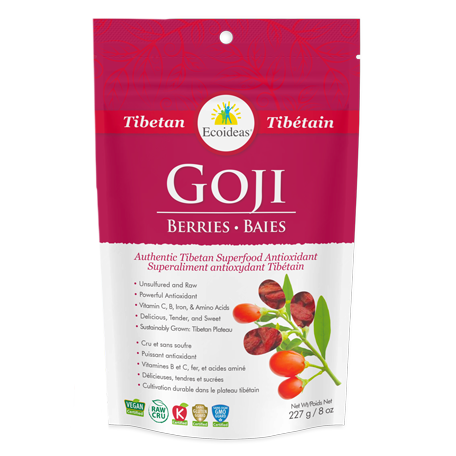 Ecoideas Tibetan Goji Berries - 227g