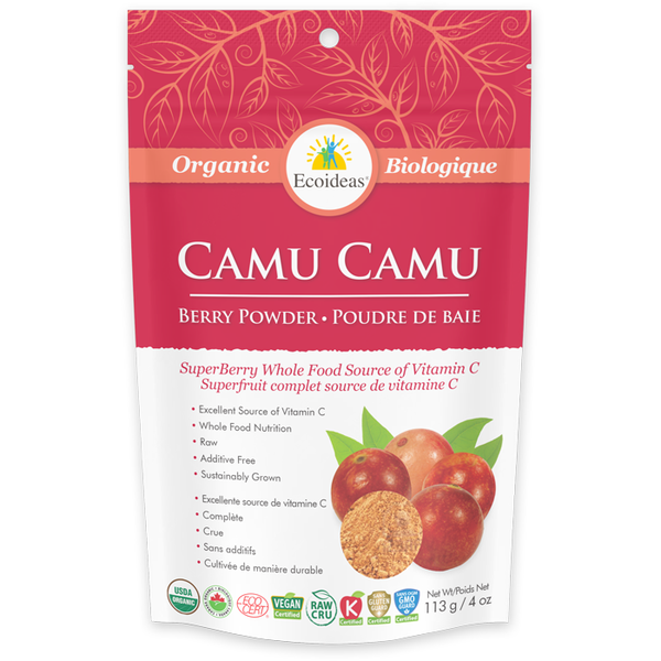 Ecoideas Organic Camu Camu Berry Powder - 113g