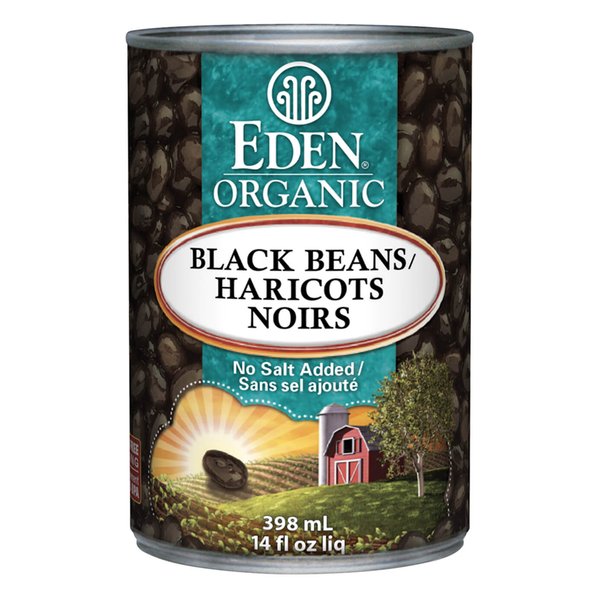 Eden Organic Black Beans - 398ml