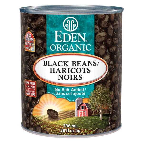 Eden Organic Black Beans - 796ml