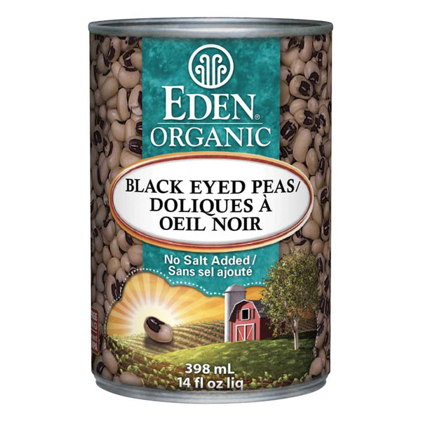 Eden Organic Black Eyed Peas - 398ml