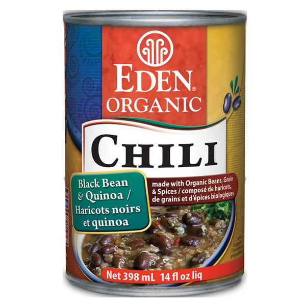 Eden Organic Black Bean & Quinoa Chili - 398ml