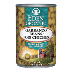 Eden Organic Garbanzo Beans - 398ml