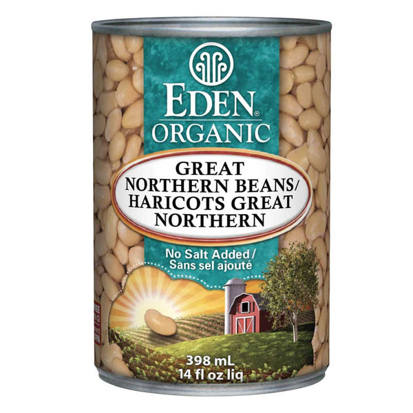 Eden Organic Great Northern Beans - 398ml