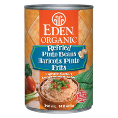 Eden Organic Refried Pinto Beans  - 398ml