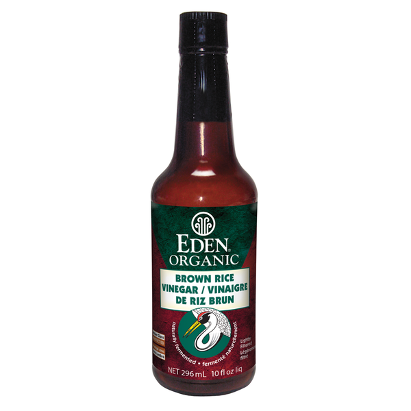 Eden Organic Brown Rice Vinegar - 296ml