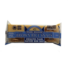 Edward & Sons Unsalted Plain Brown Rice Snaps - 100g