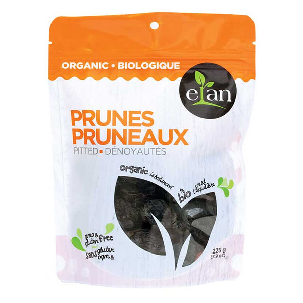 Elan Organic Pitted Prunes - 225g