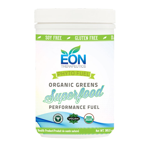 Eon Therapeutics Phyto-Fuel Organic Greens Superfood Performance Fuel - 385g