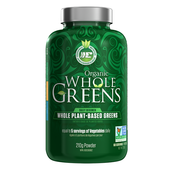 Ergogenics Whole Greens Powder - Multiple Sizes