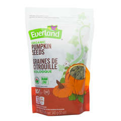 Everland Organic Pumpkin Seeds - 340g