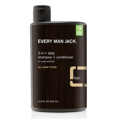 Every Man Jack 2-in-1 Sandalwood Daily Shampoo + Conditioner - 400ml
