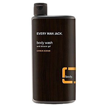 Every Man Jack Citrus Scrub Body Wash - 500ml