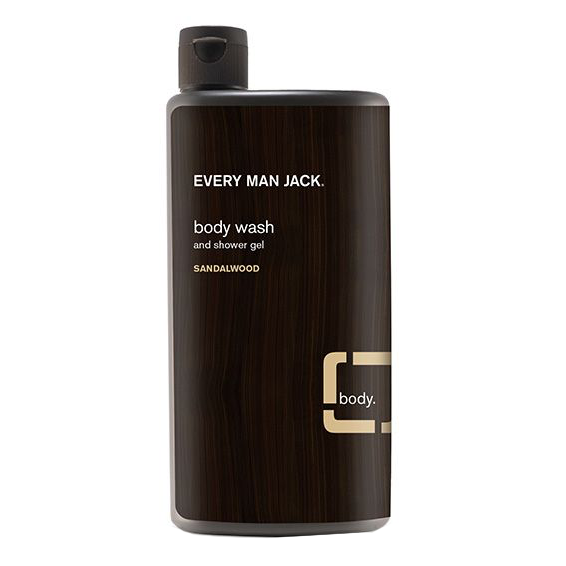 Every Man Jack Sandalwood Body Wash - 500ml