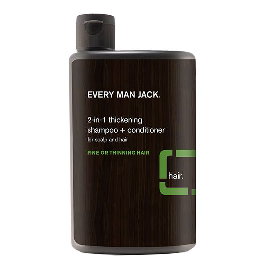 Every Man Jack 2-in-1 Tea Tree Thickening Shampoo + Conditioner - 400ml