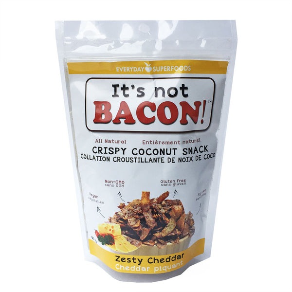 Everyday Superfoods Zesty Cheddar It's Not Bacon! - 90g