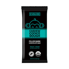 Evolved Chocolate Cashew Cookie Dough Filled Chocolate Bar - 71g