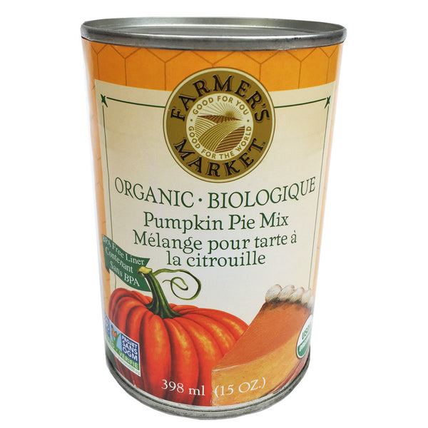 Farmer's Market Organic Pumpkin Pie Mix - 398ml