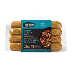 Field Roast Italian Garlic & Fennel Sausages - 368g