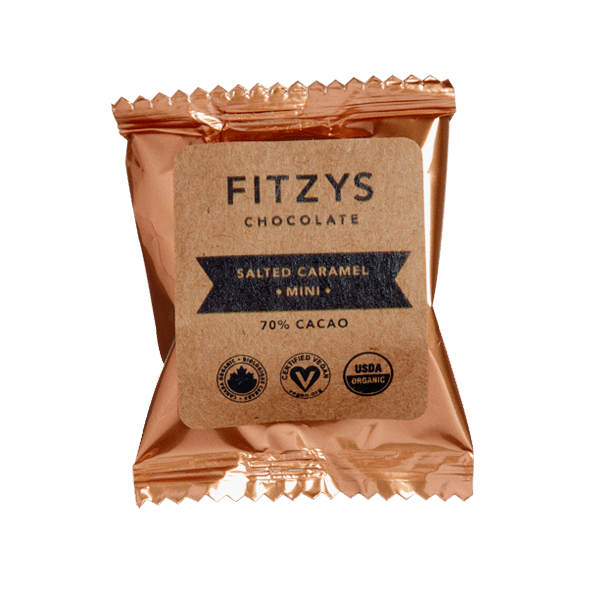 Fitzy's Salted Caramel Dark Chocolate