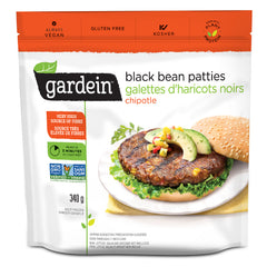 Gardein Black Bean Burger - 340g