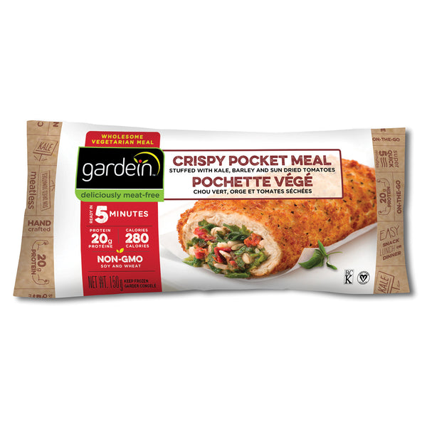 Gardein Crispy Chick'n With Veggies Pocket Meal - 150g