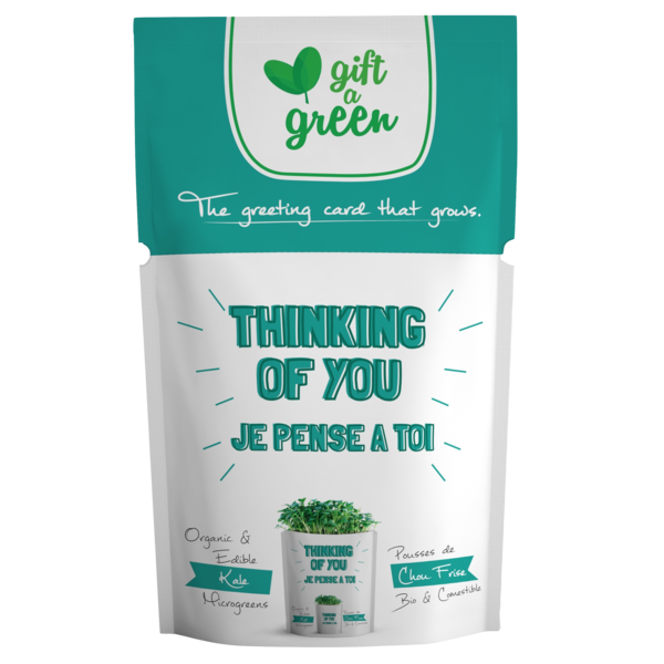 Gift-A-Green Edible Greeting Card
