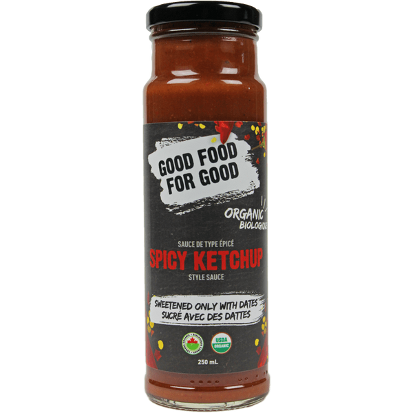 Good Food For Good Spicy Ketchup - 250ml