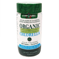 Green Foods Organic Chlorella - 200mg tablets(300)