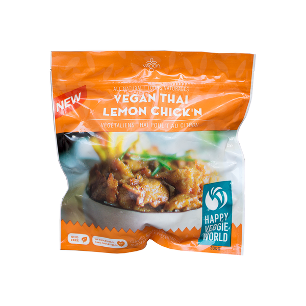 Happy Veggie World Thai Lemon Chick'n - 300g