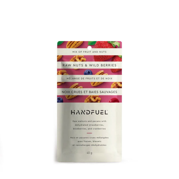 Handfuel Raw Nuts & Wild Berries Mix - 40g