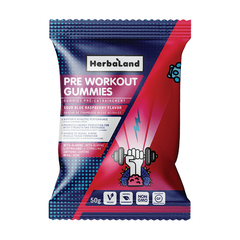 Herbaland Pre Workout Gummies - 50g
