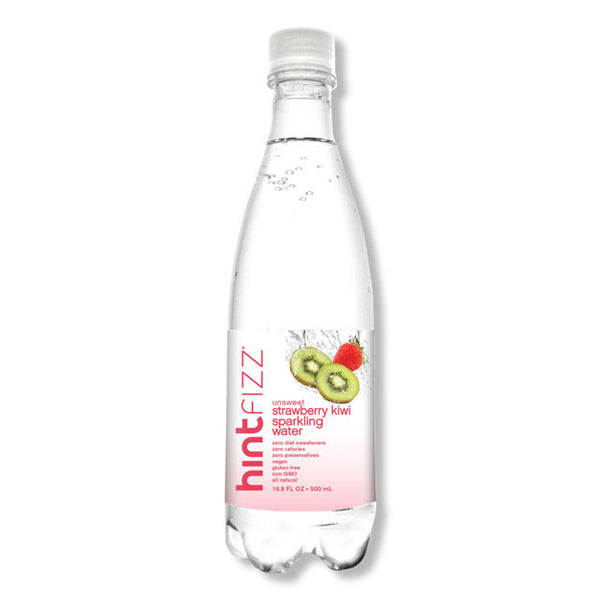 Hintfizz Strawberry-Kiwi Sparkling Water - 500ml