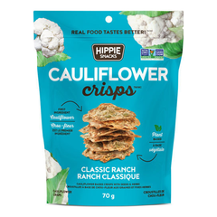 Hippie Snacks Classic Ranch Cauliflower Crisps - 70g