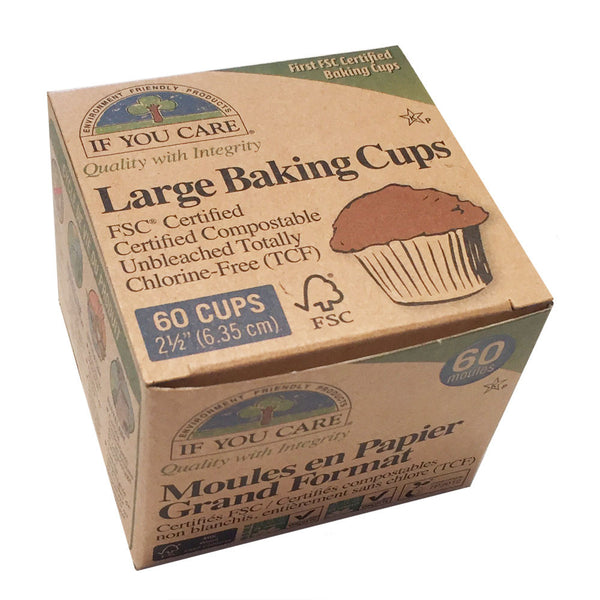 If You Care Large Baking Cups - 60 Cups