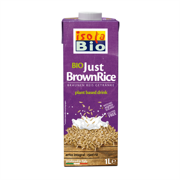 Isola Bio Organic Just Brown Rice Milk - 1L