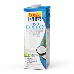Isola Bio Rice Coconut Milk - 1L